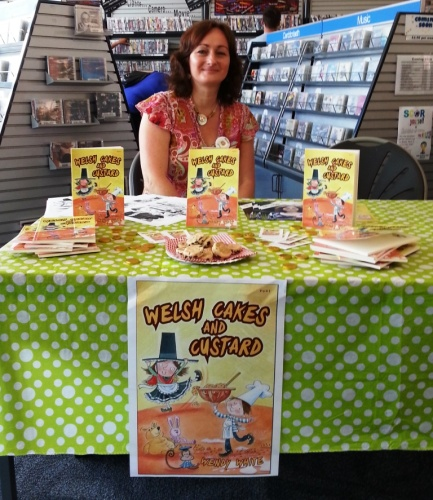 Wendy at Barry Library Author Day