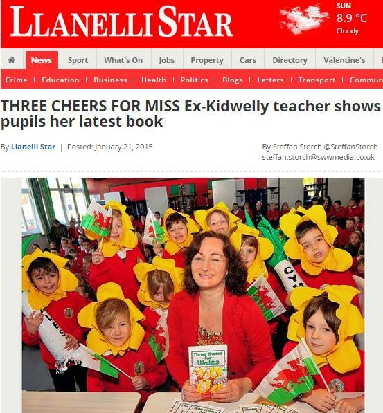 Llanelli Star Article